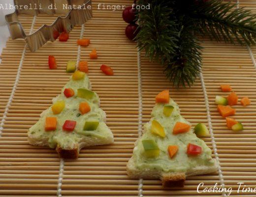 Alberelli di Natale finger food