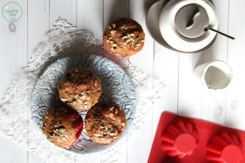 Muffin dolci banana