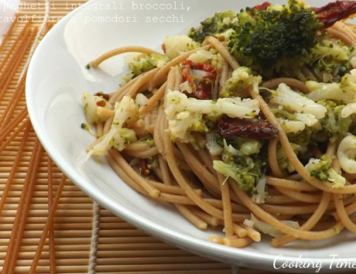 Spaghetti integrali broccoli